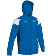 Templemore Swimming Club Joma Crewe III Full Zip Hoodie Royal/White/Navy Youth 2019